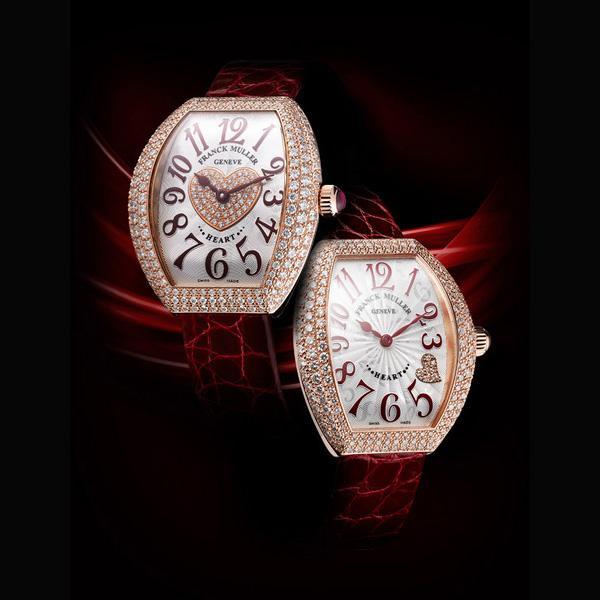 法穆兰手表维修服务中心的手表展示