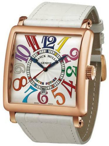 保养后的法穆兰手表