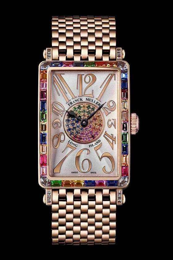 法穆兰手表的表壳